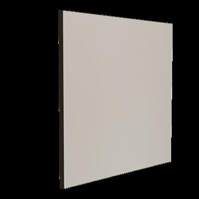 Wandabsorber schwarz 125 x 125 x 6 cm mit Akustikstoff in Graugrün F311