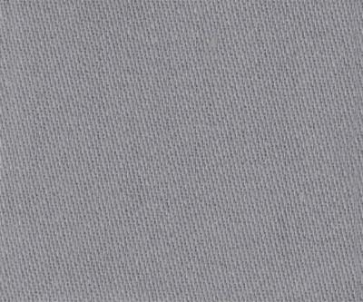 Satinmolton Meterware 320g/m² grau 3m breit