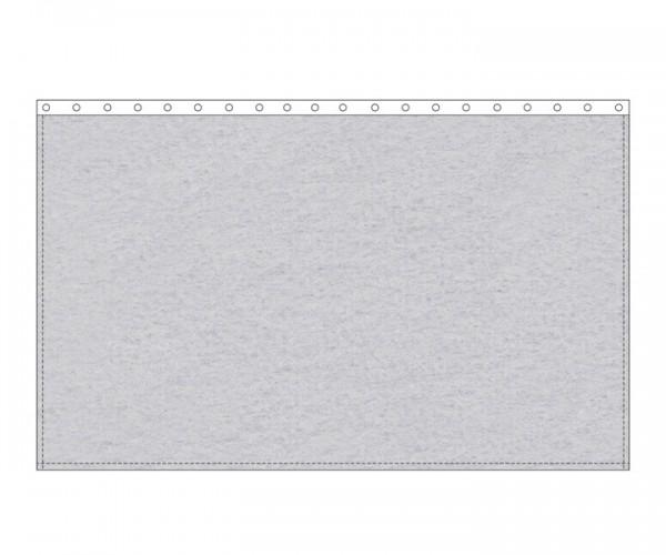 Backdrop 300g/m² hellgrau 3m (geöst) x 3m