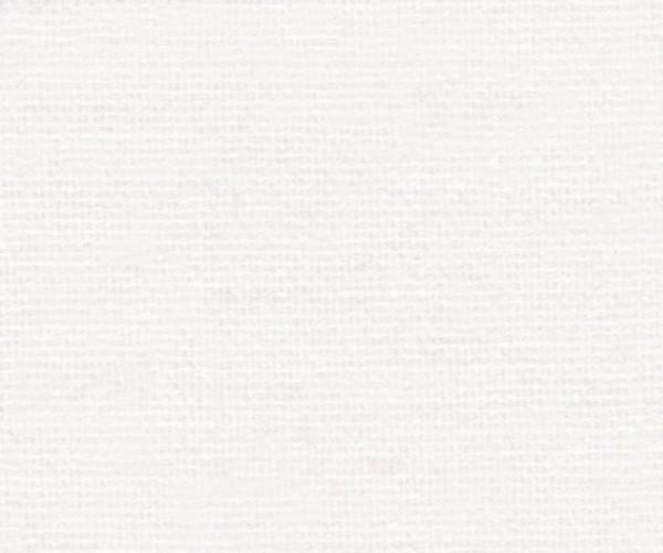 Tischmolton Meterware 360g/m² weiß 0,9m breit