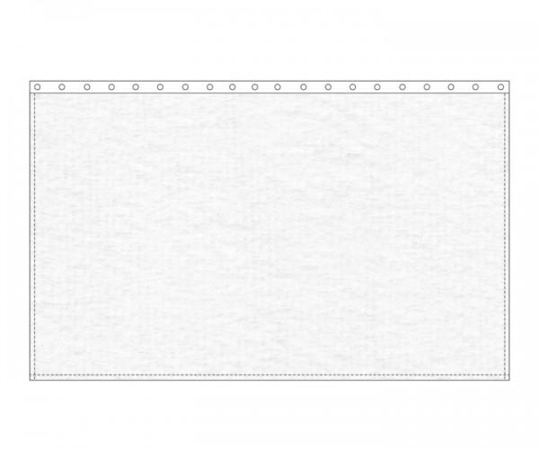 Backdrop 300g/m² weiß 10m (geöst) x 3m