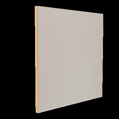 Wandabsorber natur 125 x 125 x 6 cm mit Akustikstoff in Graugrün F311