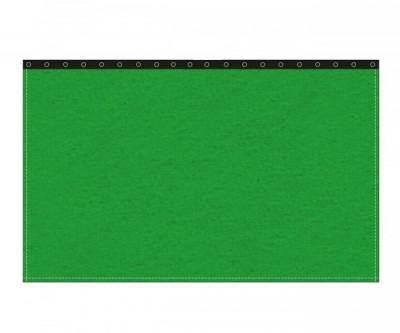 Backdrop 300g/m² greenbox 3m (geöst) x 3m mit silber 40mm Ösen