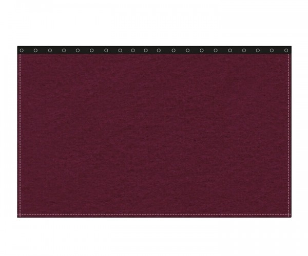 Backdrop 300g/m² bordeaux 3m (geöst) x 3m