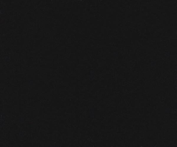 Kalmuck Meterware 500g/m² schwarz 3m breit