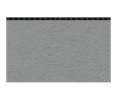 Backdrop 300g/m² schiefergrau 3m (geöst) x 3m