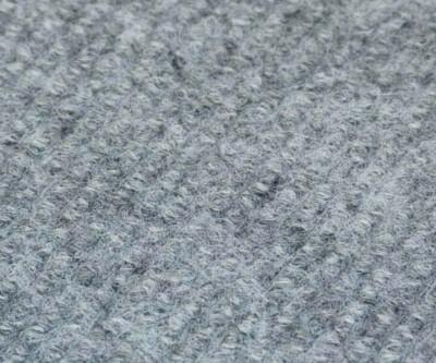 Messerips Rolle 330g/m² hellgrau meliert F4805 2m breit
