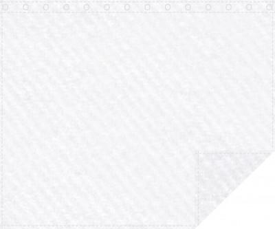 Klassiker 1.100g/m² weiß 3m x 2,4m geöst 3m breit