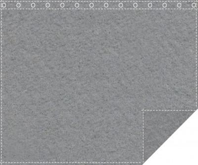 Klassiker 1.100g/m² schiefergrau 3m x 2,0m geöst