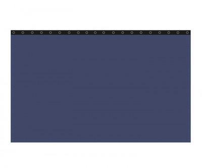 Backdrop 300g/m² royalblau 10m (geöst) x 3m mit silber 12mm Ösen