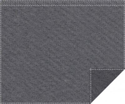 Klassiker 1.100g/m² anthrazit 3m x 2,0m Faltenband