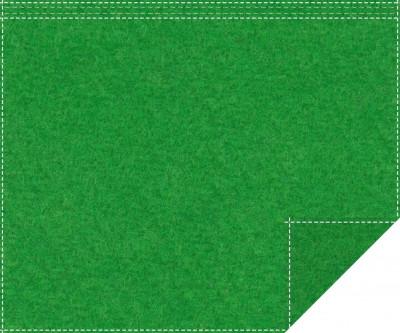 Akustikblackout 1500g/m² greenbox 1,9m x 1,5m Faltenband