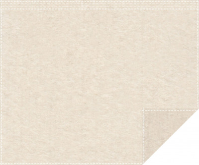 Akustikbackdrop 1.000g/m² natur 3m x 2,0m Faltenband 3m breit