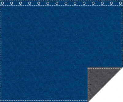 Klassiker 1.100g/m² carpetblau | anthrazit 3m x 2,0m geöst