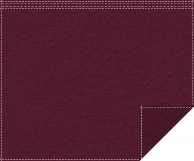 Klassiker 1.100g/m² bordeaux 3m x 2,0m Faltenband 3m breit