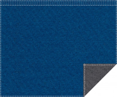 Klassiker 1.100g/m² carpetblau | anthrazit 3m x 2,2m Faltenband