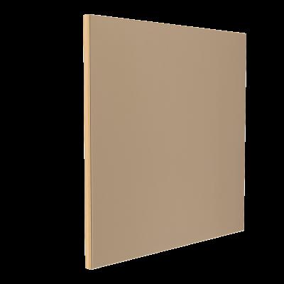 Wandabsorber natur 125 x 125 x 6 cm mit Akustikstoff in Beige F541