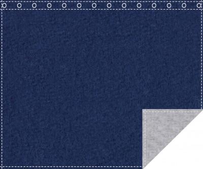 Klassiker 1.100g/m² royalblau | hellgrau 3m x 2,0m geöst
