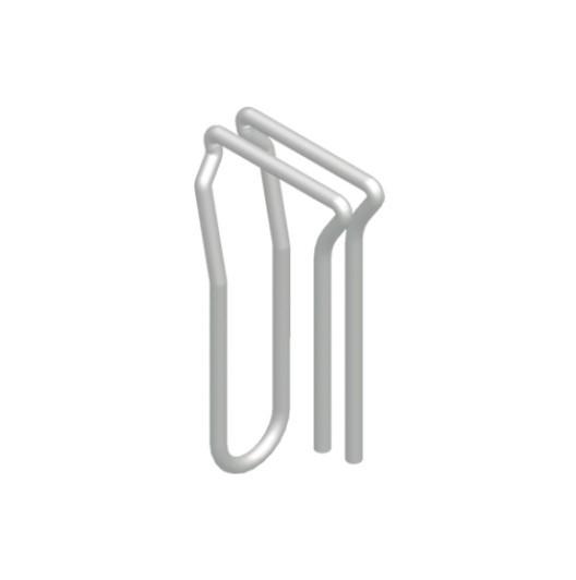 ASS Vorhangshaken gebogen V4A - Stahl