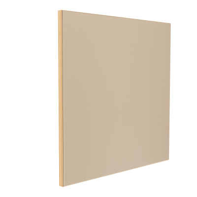 Wandabsorber natur 125 x 125 x 6 cm mit Akustikstoff in Natur F511