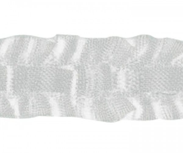 Schwerstegband 28mm weiß