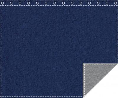 Klassiker 1.100g/m² royalblau | schiefergrau 3m x 2,0m geöst