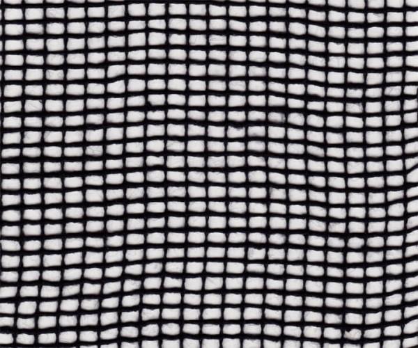 Sprinklergewebe Meterware 90g/m² schwarz 3m breit