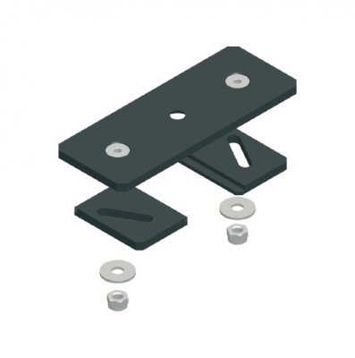 ASS/TRUMPF-Systeme Deckenmontageplatte schwarz