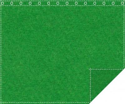 Klassiker 1.100g/m² greenbox 3m x 2,0m geöst