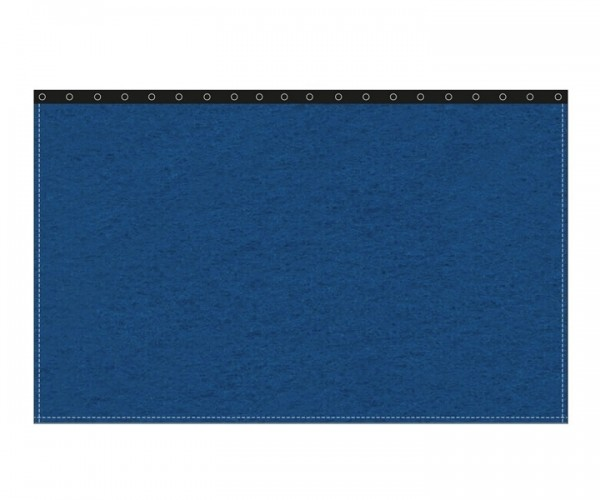 Backdrop 300g/m² bluebox 10m (geöst) x 3m