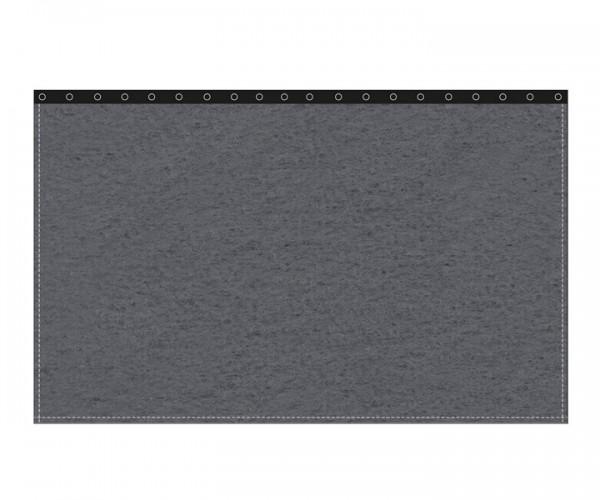 Backdrop 300g/m² anthrazit 3m (geöst) x 3m